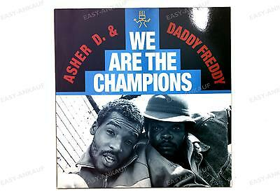 Asher D & Daddy Freddy - We Are The Champions Germany Maxi 1989 //1