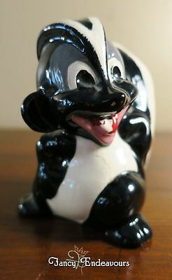 Large California? Pottery Grinning Skunk with Mohawk Figurine #2 Do You Know it?