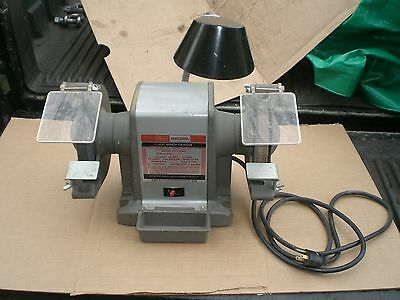 Incredible Vintage Sears Craftsman 6 Block Bench Grinder 1 2 Hp Model Alphanode Cool Chair Designs And Ideas Alphanodeonline