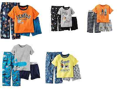 NWT ☀3PC SET☀ CARTER'S Boys Pajamas GENIOUS DOGS SPACE New YOU PICK 2T 3T 4T $26