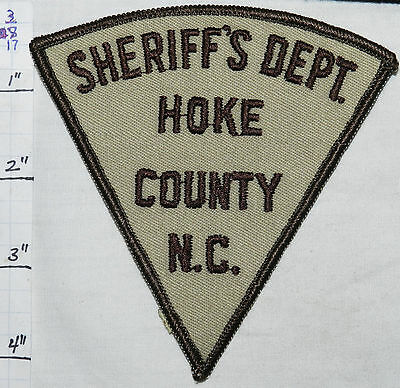 North Carolina, Hoke County Sheriff's Dept Vintage Patch