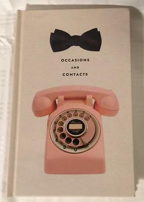 New KATE SPADE NY Occasions and Contact ADDRESS and EVENTS Book HARDCOVER