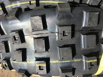 Atv Tyres 25 X 12 X 9 Old Style Block Tread  Act 200 250 Duro