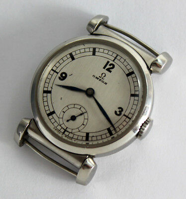 Superb OMEGA SCARAB swiss Art Deco ARMBANDUHR Wrist Watch ca.1937 C. 26.5 SobT2