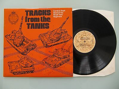 Cambrai Staff Band - Tracks From The Tanks, UK 1981, LP, Vinyl: vg+