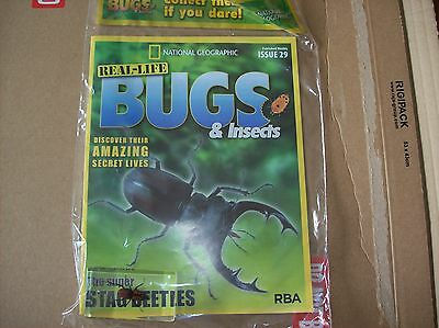 National Geographic Real-life Bugs & Insects magazine Issue 29