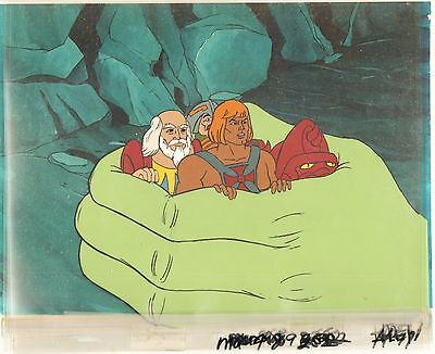 He-Man Masters of the universe Original Production Animation Art Cell 2*
