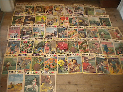 49 issues Rustica Vintage French countryside magazine gardening etc 1940s