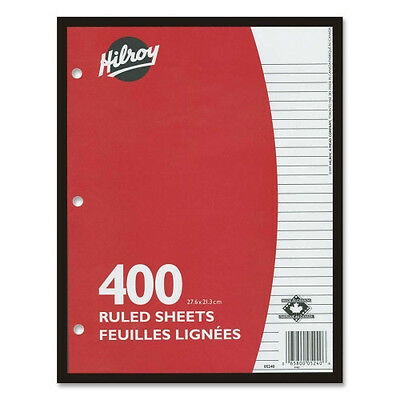 Hilroy 7mm Ruled With Margin Filler Paper 05240