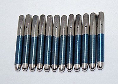 """Piano Tuning Pins Set of 12 Size 3/0 x 2-3/8"""" x .286"""" Replace Loose Tuning Pins"""
