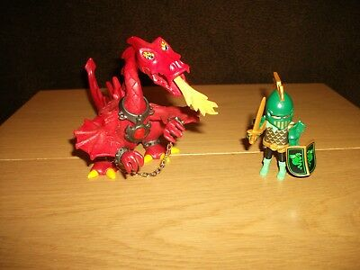 Playmobil - Roter Drache mit 1 Ritter