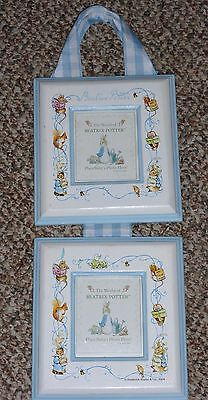 The World of Beatrix Potter Peter Rabbit Double Frame Wall Hanging in VGC