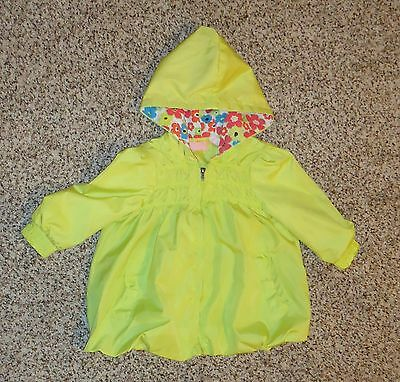 Kids Headquarters Toddler Girls Light Green Jacket Bubble Hem Zipper 18 Months