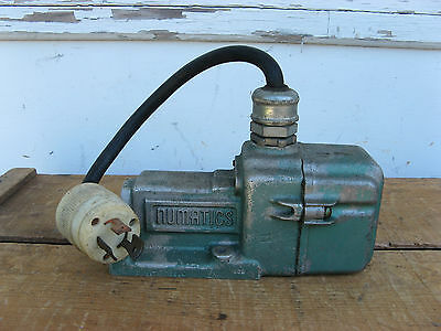 "Numatics 3Sa4 5 Way Solenoid Air/pneumatic Valve 115V 3/8"" Npt"