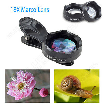 APEXEL 18X Zoom Mobile Phone Lens Macro Clip-on for iPhone 7 /6/6s/5 Samsung HTC