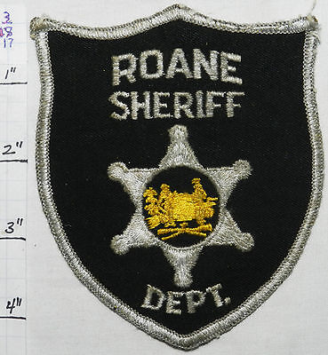 West Virginia, Roane County Sheriff Dept Patch