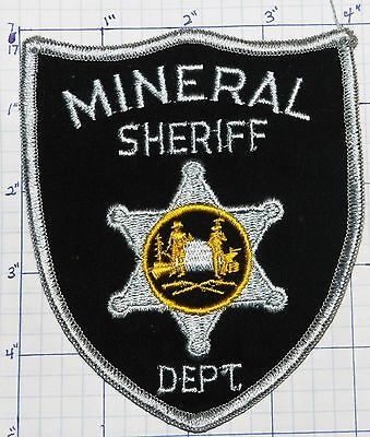 West Virginia, Mineral County Sheriff Dept Patch