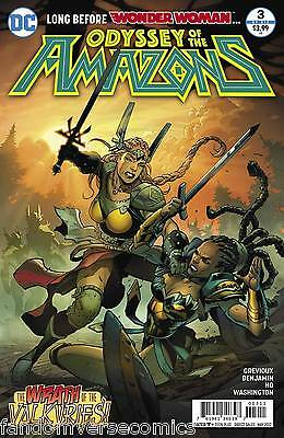 Odyssey Of The Amazons #3 (Of 6) (2017) Dc (3/15/17)