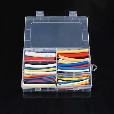 180Pcs 3:1 Marine Heat Shrink Tubing Assortment Electrical Wire Wrap 5 Color