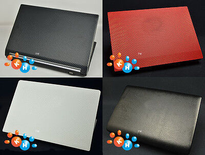 """KH Laptop Carbon Leather Sticker Cover Skin for DELL XPS 15-9550 9560 15.6"""""""