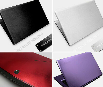 KH Laptop Brushed Sticker Skin Cover Protector for DELL XPS 15-9550 9560 15.6""