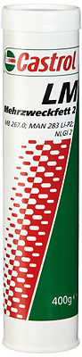 Castrol 73827 LM Multi-Purpose Grease 2, 400 g