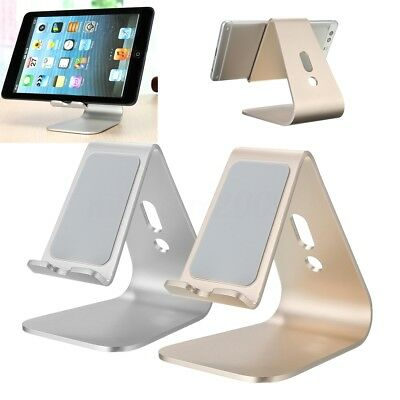 Aluminum silicone Tablet Lazy Mobile Phone Desk Stand Mount Holder Universal