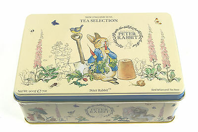 Gorgeous Peter Rabbit Tin with selection of Teas - 100 T-bags - Beatrix Potter