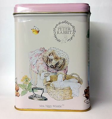 Delightful Mrs Tiggy-Winkle Tin with 40 T-bags - Afternoon Tea - Beatrix Potter