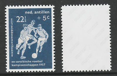 Netherlands Antilles 3228 - 1957 FOOTBALL - a Maryland FORGERY unused
