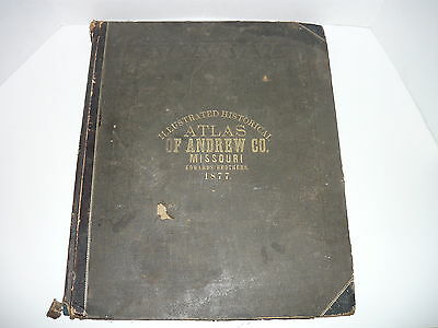 Illustrated Historical Atlas Of Andrew Co.missouri 1877,county,edwards Brothers