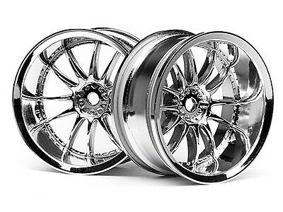HPI Work Xsa 02c Wheel 26mm Chrome (9mm Offset) #3282