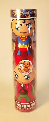 Superman and Lex Luther 2 Pak Bubble Bath - 3.38 fl oz (100 ml)