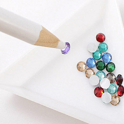 5x PICKUP PENCIL TOOL RHINESTONE STONE CRYSTAL GEM BEAD CRAFT CARD MAKING