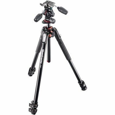 Manfrotto MK190XPRO33W 190 Aluminum 3 Section Kit (Black)
