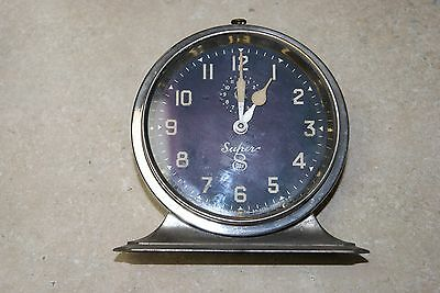 Antique Ingraham Super 8 Alarm Clock