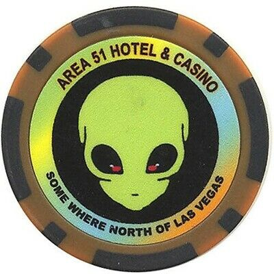 Area 51 Fantasy Chip Las Vegas Nevada Collectible Chips FREE Shipping  NEW *