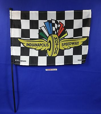 Indianapolis motor speedway collector checkered stick flag for Indianapolis motor speedway clothing