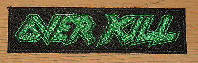 OVERKILL woven PATCH