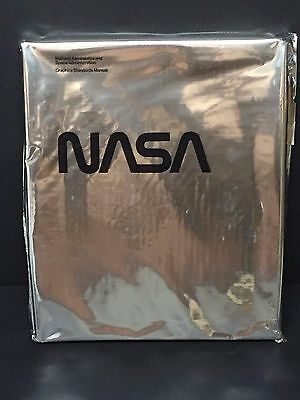 Richard Danne 1975 Reissue NASA Graphics Standards Manual Signed Autograph Book