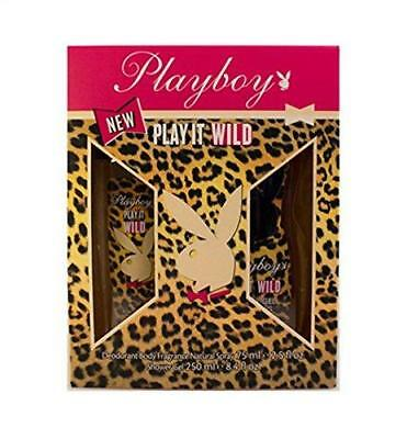 Playboy Play It Wild for Her Spray per il corpo donna Set | cod. D560235 IT