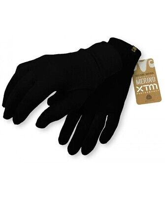 XTM Merino Gloves - Black - XL