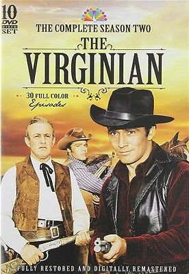 THE VIRGINIAN TV SERIES COMPLETE SEASON TWO 2 New Sealed 10 DVD Set