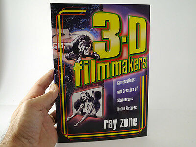 Ray Zone 3D Book - 3-D Filmmakers NEW