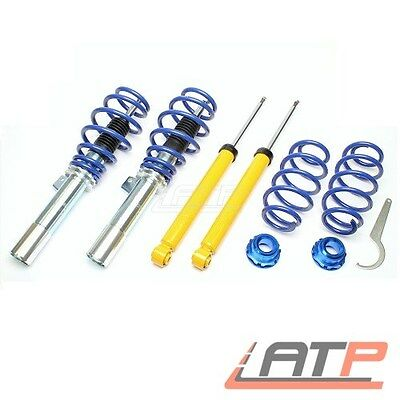 Coilover Kit Adjustable Suspension Front + Rear Vw Eos 1.4-3.6 Touran 1T 1.2-2.0