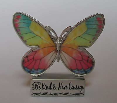 n Be Kind Have Courage BUTTERFLY BLESSINGS FIGURINE ganz miniature