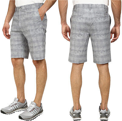 adidas Puremotion Stretch Graphic Mens Golf Short - Grey