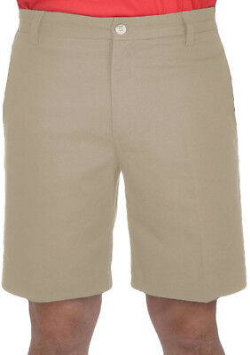 adidas Flat Front Mens Golf Shorts - Brown