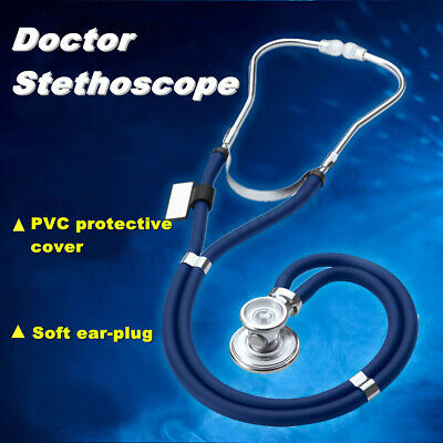 Classic Clinical Professional Medical Nurse Doctor Double Dual Head Stethoscope