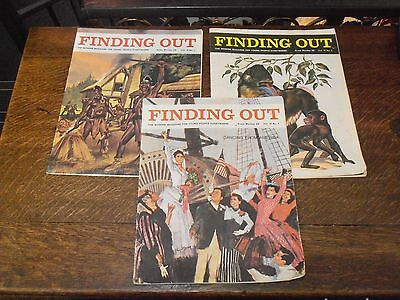 JOB LOT FINDING OUT MAGAZINES VOL 18 No 1 - 3